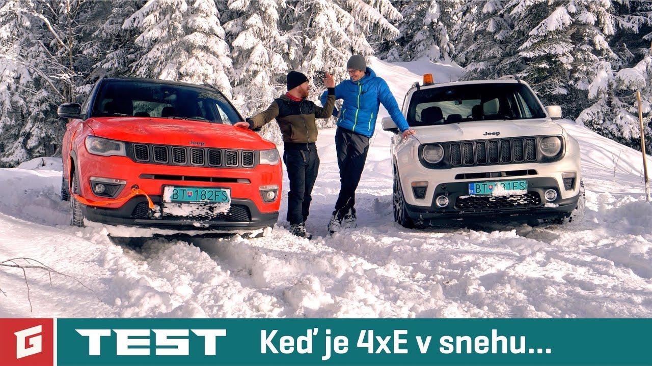 Jeep Renegade 1,3 PHEV vs Jeep Compass 1,3 PHEV