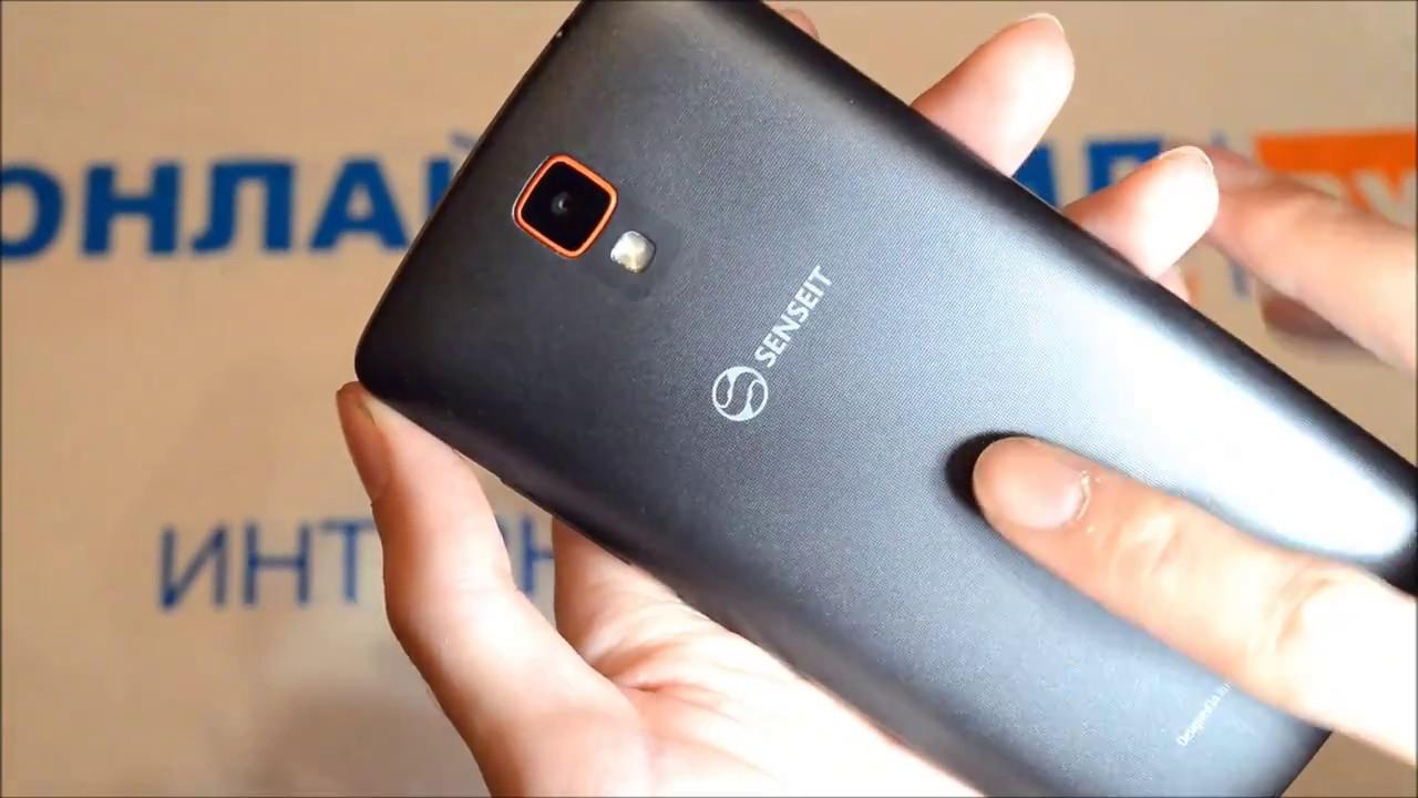 Обзор на лучший бюджетный телефон SENSEIT A200