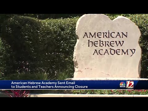 Greensboro's American Hebrew Academy closes without warning