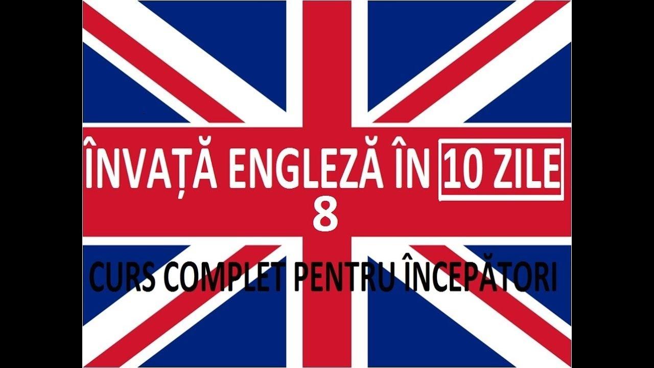 Invata engleza in 10 ZILE | Curs complet pentru incepatori | LECTIA 8
