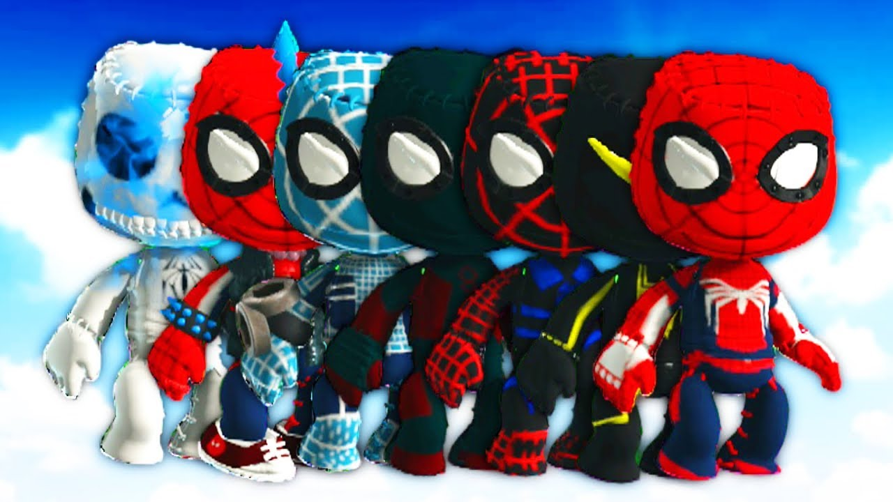 Littlebigplanet 3 All Marvels S Spider Man Ps4 Costumes Suits