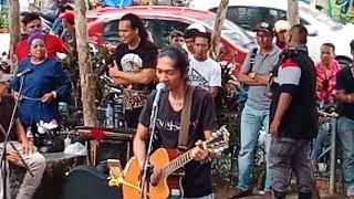 Lagu Thailand.. Busker jemputan dari Penang..Lawak busker ni(Key Project)
