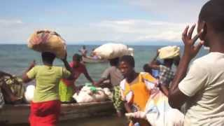 Finally, we are on the way to Chizumulu Island. It was a refugee-lo...
