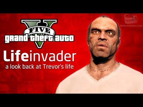 GTA 5 - A Look Back at Trevor's Life (Facebook Parody)
