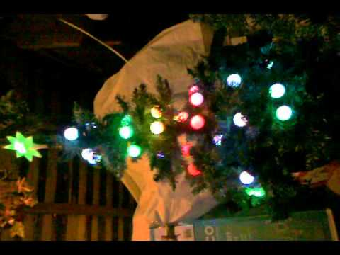 Gemmy Light Show Musical Christmas Tree (good) - YouTube