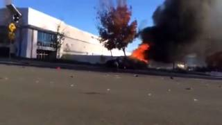 Actual Footage of Paul Walker died in a car accident