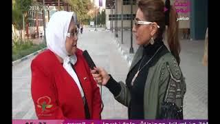 كن ايجابي مع فاتن شاهين| وتغطية لمؤتمر حملة تأييد الرئيس السيسي بمركز شباب الجزيرة 21-2-2018