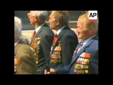 RUSSIA: PRESIDENT PUTIN HONOURS WWII VETERANS