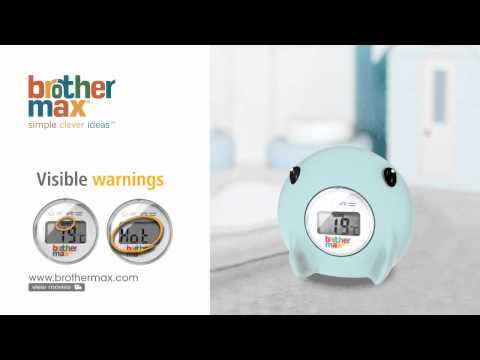 Brother Max Ray Digital Bathroom Thermometer