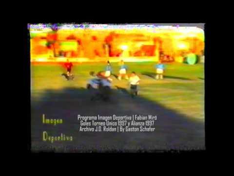 1997 - Goles Torneo Unico y Torneo Alianza
