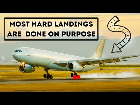 Why Airplanes Make Hard Landings on Purpose