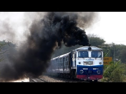 TRAIN's in NORTH India -1: Indian Railways