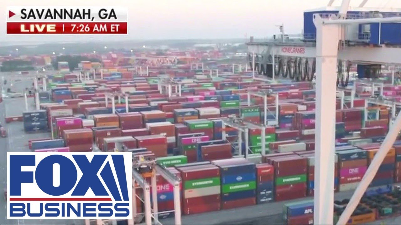Shipping backlog adding to US supply chain delays