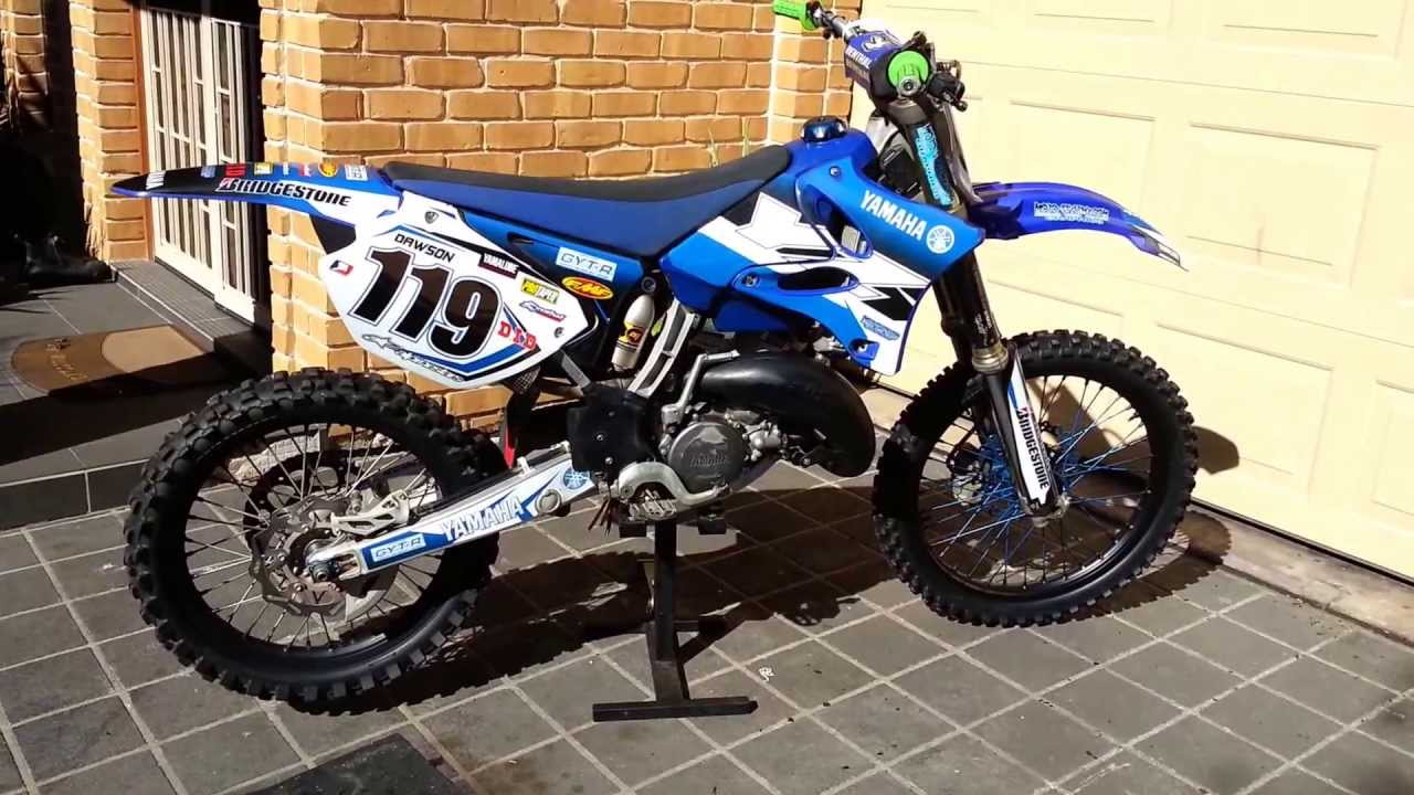 Yz 125 2008 startup/warmup