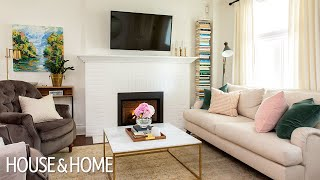 House Tour: A Blogger's Bright And Sweet First Home