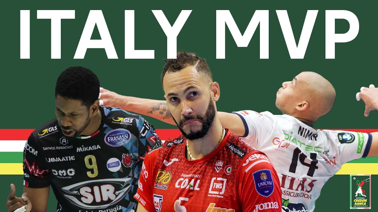 Download MVP & all-stars of the Italian Volleyball League 2021