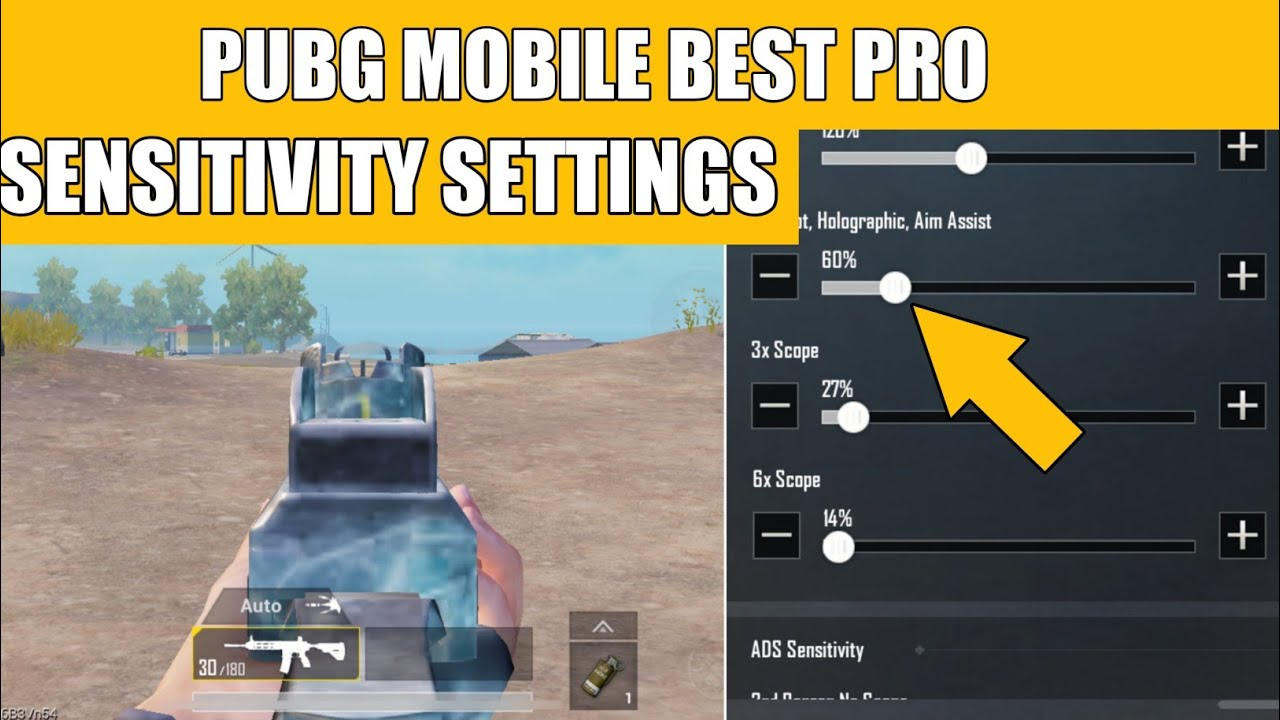 BEST SENSITIVITY SETTING AND FULL GUIDE + 0 RECOIN IN PUBG MOBILE