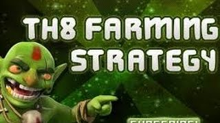 Clash of Clans how to get loot FAST barch strategy for th7 and th8