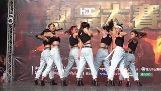 【無限HD】107年全國中等學校熱舞大賽 北區 高中女生組 19 板內J(4K HDR)
