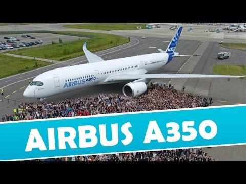 Espectacular Airbus A350 primer día de vuelo