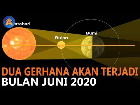 Dua Gerhana Akan Terjadi Juni Ini, Yuk Intip Infor