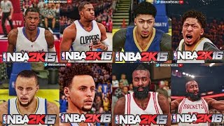 NBA 2K15 and NBA 2K16 - Official Face Comparison Trailer