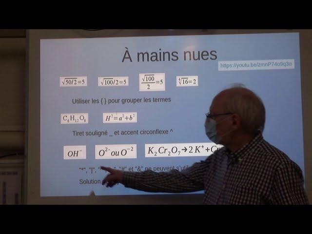 LibreOffice Math IV