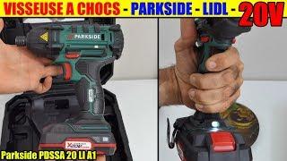 visseuse a chocs lidl parkside 20v cordless impact driver akku drehschlagschrauber