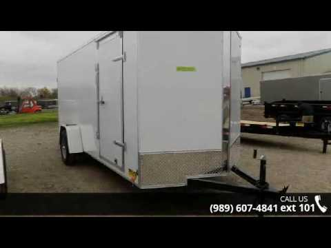 2016 Legend Trailers 6' x 14' Enclosed Cargo Trailer  - B...