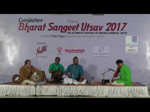 Sandeep Narayanan l  Bharat Sangeet Utsav 2017 l Coimbatore