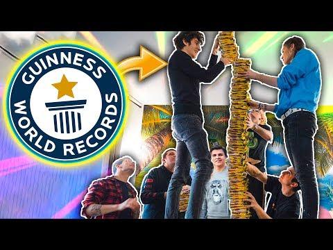UNA TORRE DA GUINNESS WORLD RECORD!! MATES, SABRI, FAVIJ E KLAUS!
