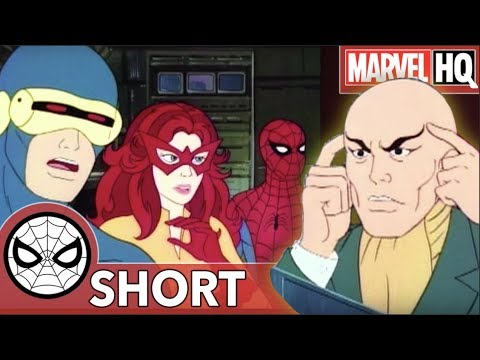 The X-Men Video Chat! | Marvel Mash-Ups: Spider-Man & Amazing Friends | Professor X
