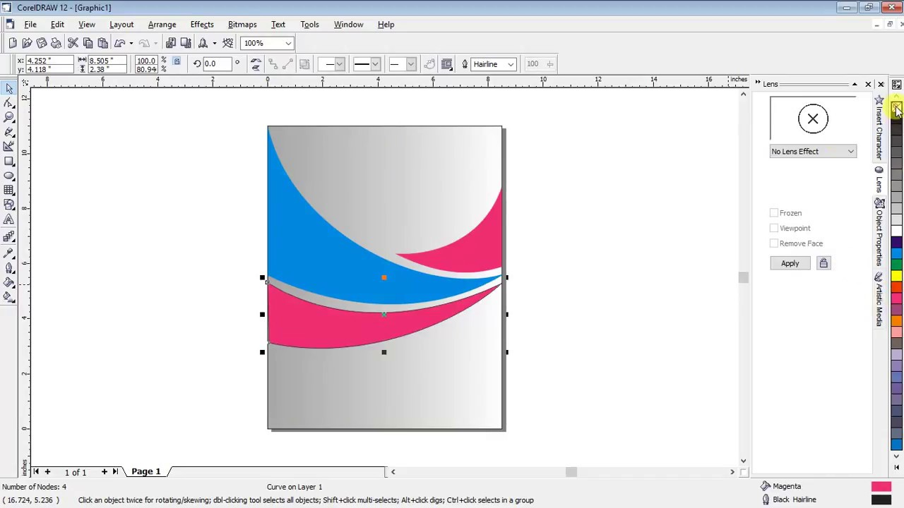 how to make book cover page in corel draw12