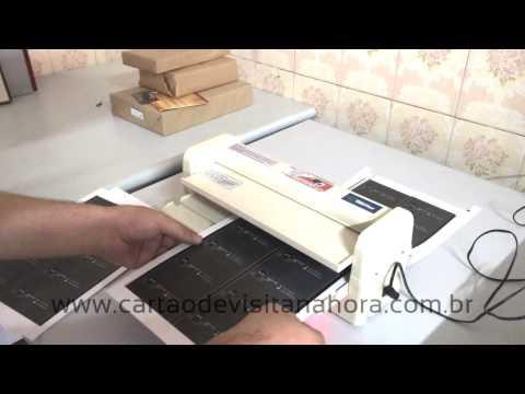 Cartão de Visita na hora - Gráfica Rápida from YouTube · Duration:  4 minutes 34 seconds