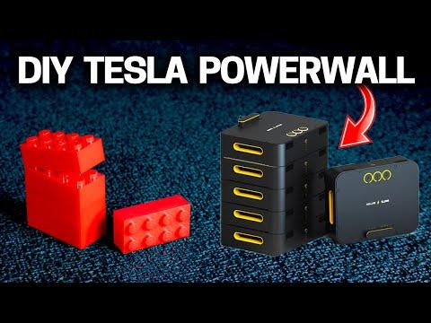 TESLA Powerwall Alternative - WATTS Battery Power Array & Solar Generator