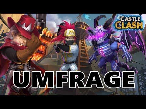 COMMUNITY UMFRAGE! Ich Brauche Eure Unterstützung | Castle Clash | Schloss Konflikt