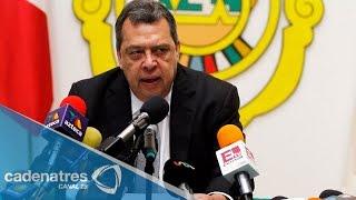 Ángel Aguirre deja el cargo de gobernador de Guerrero