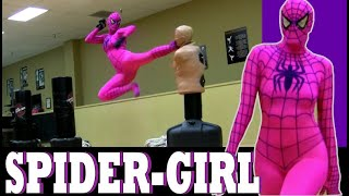 SPIDER-GIRL - Taekwondo | Kickboxing thumbnail