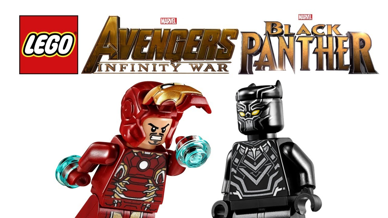 Many Lego Avengers Infinity War And Black Panther Sets Are