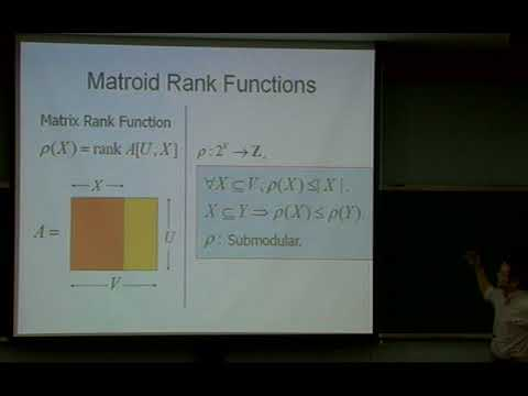Satoru Iwata (RIMS, Kyoto University) / Submodular Optimization and Approximation Algorithms