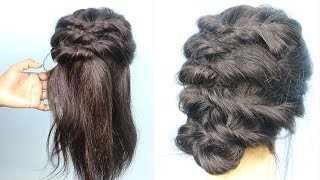 Most Beautiful Bridal Hairstyle Tutorial 2020 - Easy Hairstyles For Wedding Party | Cute Hairstyles