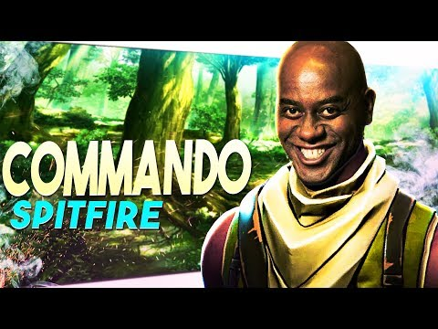*HEHE BOII* Commando Spitfire Hero Review | Fortnite Save The World