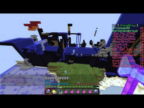 phsycoduck1497 using kill aura, anti kb, reach, and fly hacking on cosmic pvp alien planet