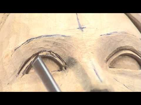 Carving A Female Head Woodcarving Teaching Dvd By Ian