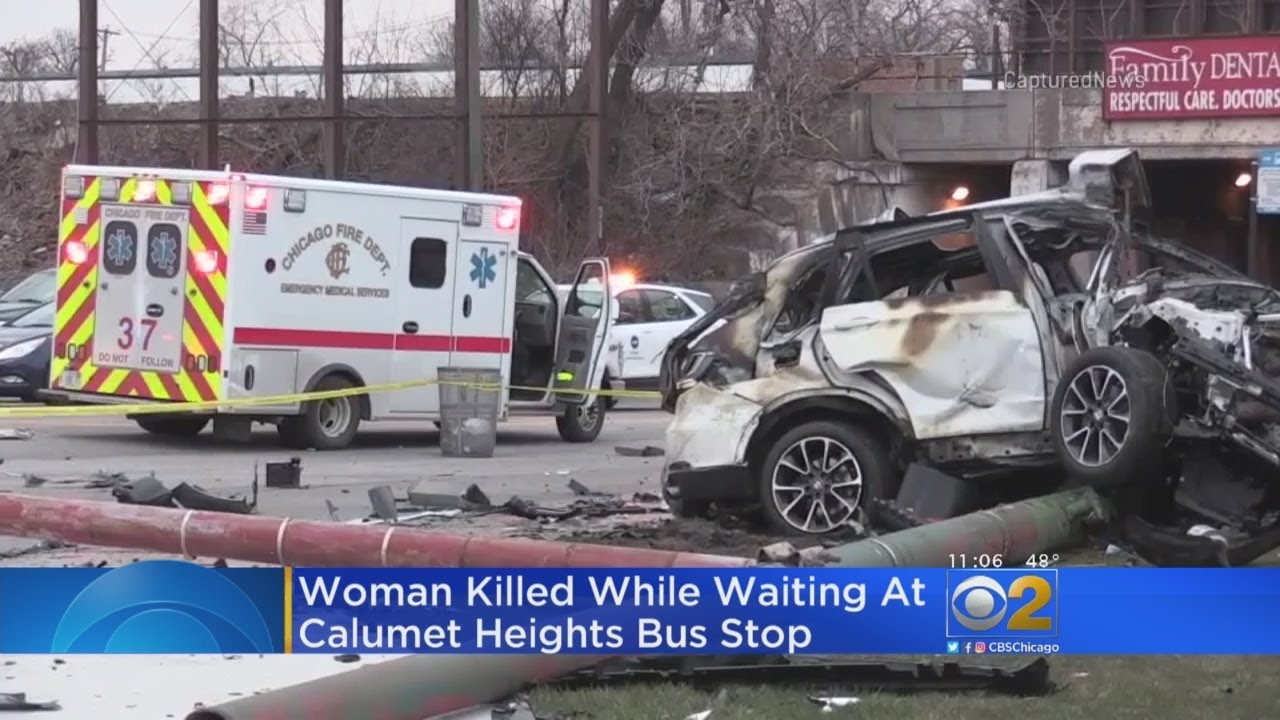 1 Killed, 4 Injured When SUV Crashes Into Bus Shelter