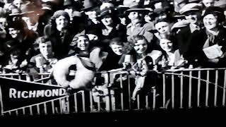 Richmond 1932 Finals VFL Premiers 1932 d Carlton MCG Film