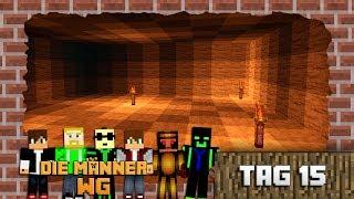 Minecraft Männer WG Tag 15 (Yama macht Platz auf der Kuppel)