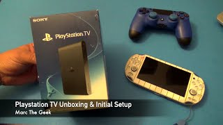 Playstation TV Unboxing & Initial Setup