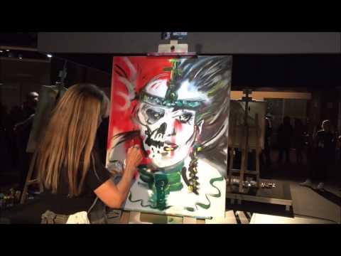 Art Battle Porto Alegre 2016 by Rejane Trein