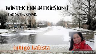 Winter fun in Friesland - The Netherlands - V#050
